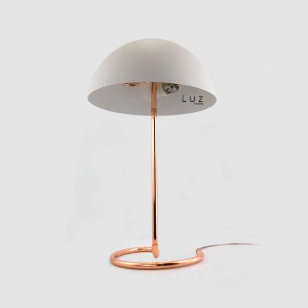 lampara cobra campana blanca led e27